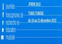 Journées francophones de recherche en éducation musicale